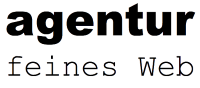 Logo agentur feines web