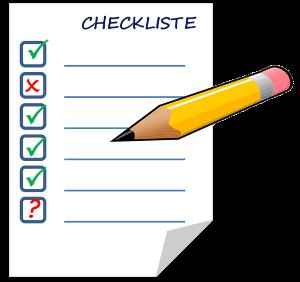 Website-Check Liste